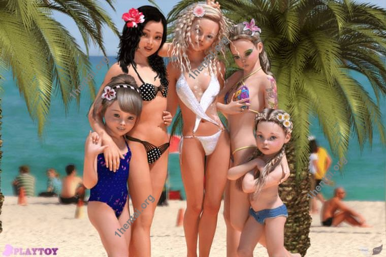 AGP PlayToy Beautiful Girls LoliconsVol。による3Dアート 15