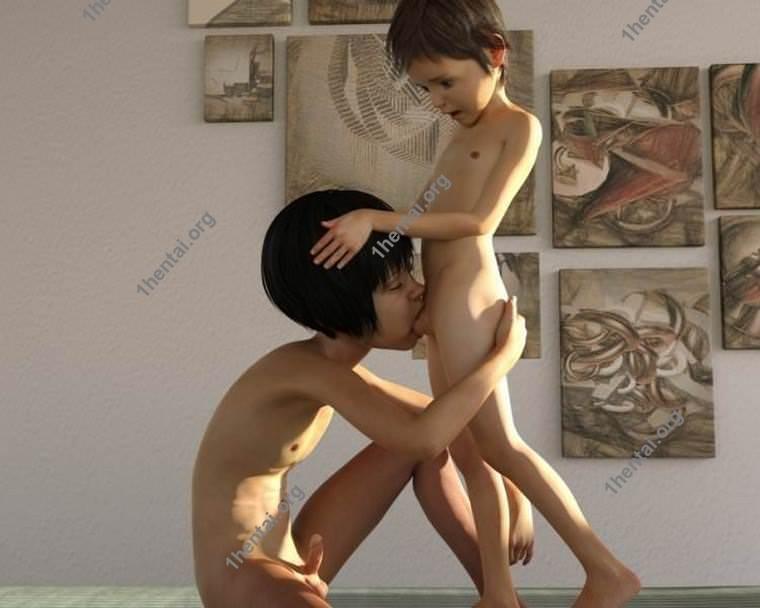 匿名による3Dアートショタコンロリボーイズの写真