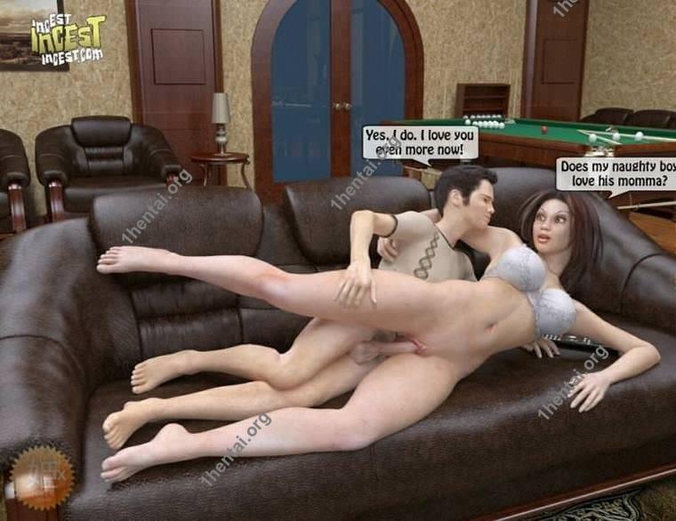 Incestincestincest –ポルノママと息子の漫画