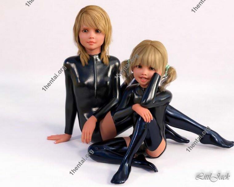 Littljackによる10代の3Dロリの女の子の写真