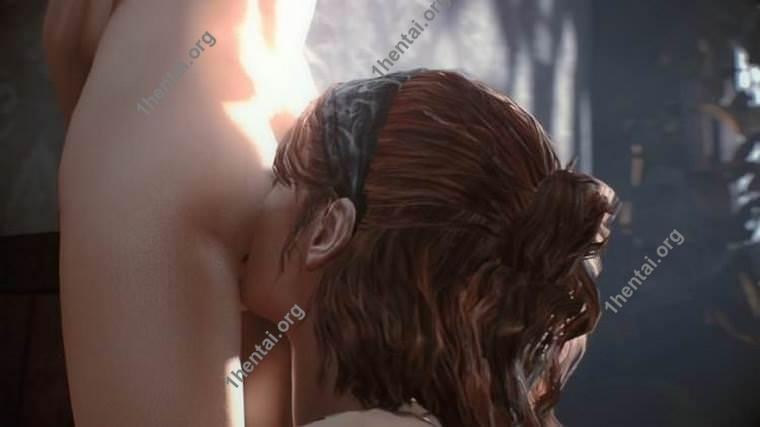 リミング体験(The Last of Usのエリー)3Dビデオ(1080p HD)