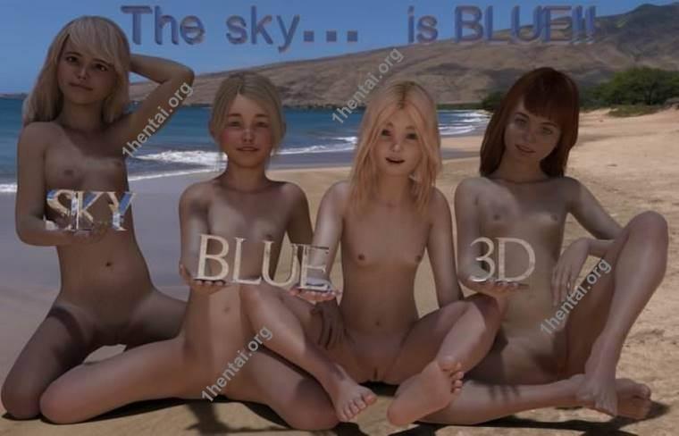 SkyBlueヌーディスト変態ロリータ写真vol。 2