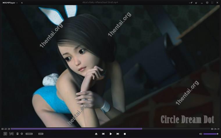 Circle Dream Dot-Alices Risky Afterschool StrollHDビデオと3DCG写真