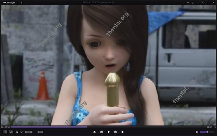 Circle Dream Dot DojinR18-アリスと危険な変態ロリコンビデオ