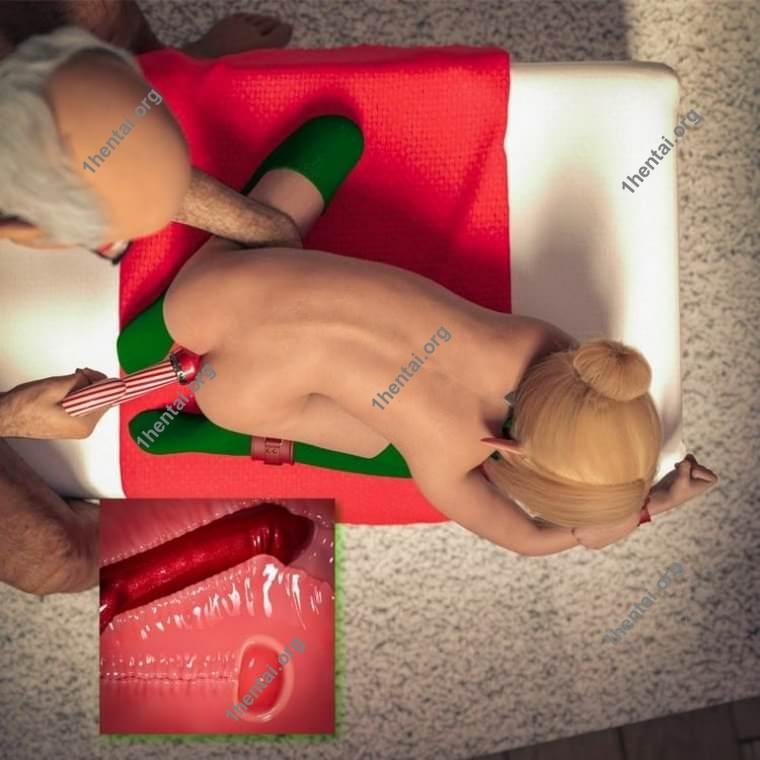 クリスマスエルフが犯される3D変態ロリコンアートギャラリー
