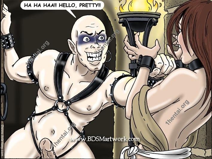 Fansadox - Gary Roberts - Witchhunt Comix (Bdsmartwork En BDSM comics free)