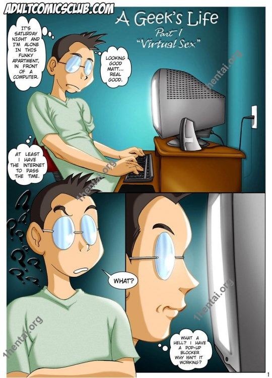 A Geek's Life - Melkor Mancin - Color comic for adults
