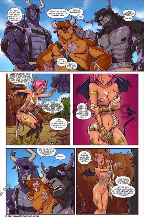 Taking the Bull by the Horns (Manaworld) - Melkor Mancin En