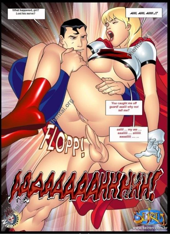 It Up League Justice 1-2 (eng, uncen) by Contos Sieren