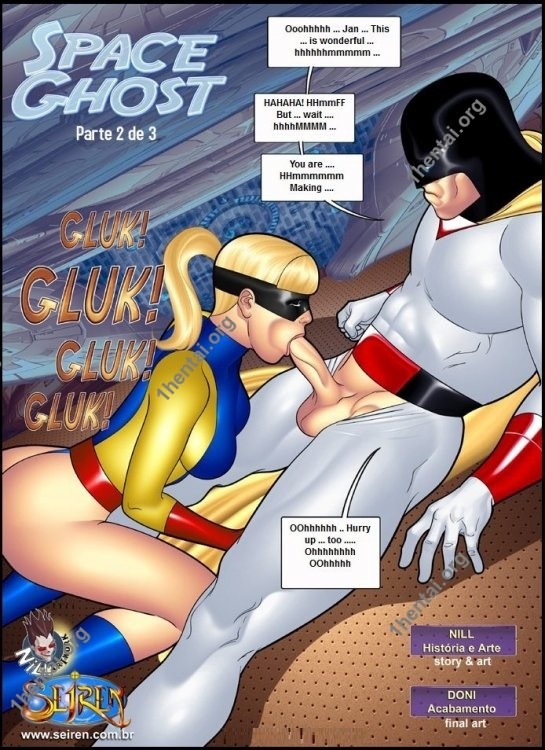 Space Ghost 1-3 (eng, uncen) by Contos Sieren