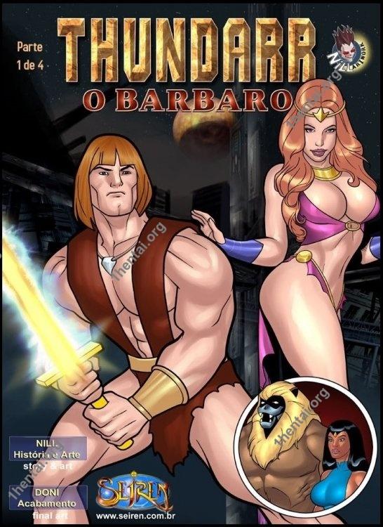 Thundarr - The Barbarian 1-2 (eng, uncen) by Contos Sieren