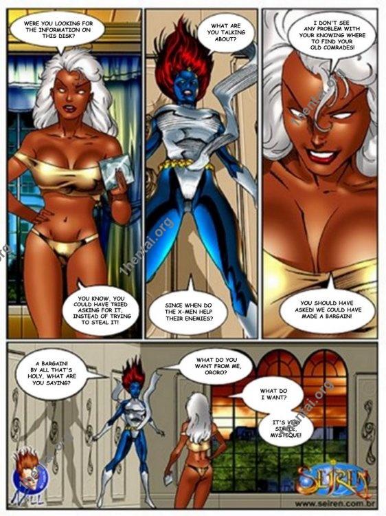 X-Men xxx comics (eng, uncen) by Contos Sieren