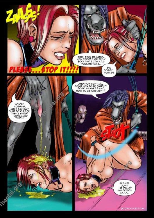 Fansadox Collection 35 - Slave Trek One BDSM En Comics Free