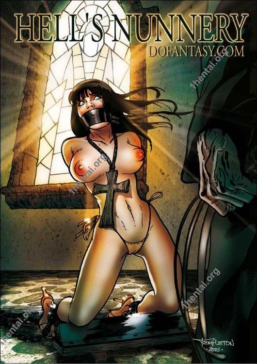Fansadox Collection 73 - Templeton - The Convent 2 RzR BDSM Free Comics Read