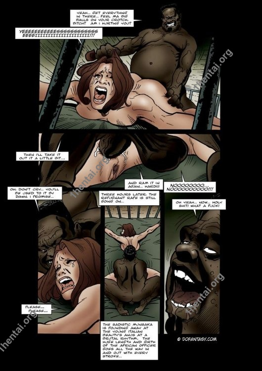 Fansadox Collection 79 - Templeton - African Whore Camp BDSM FREE XXX Comics