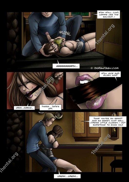 Fansadox Collection 82 - Geoffrey Merrick - Librarian BDSM xxx free read comics