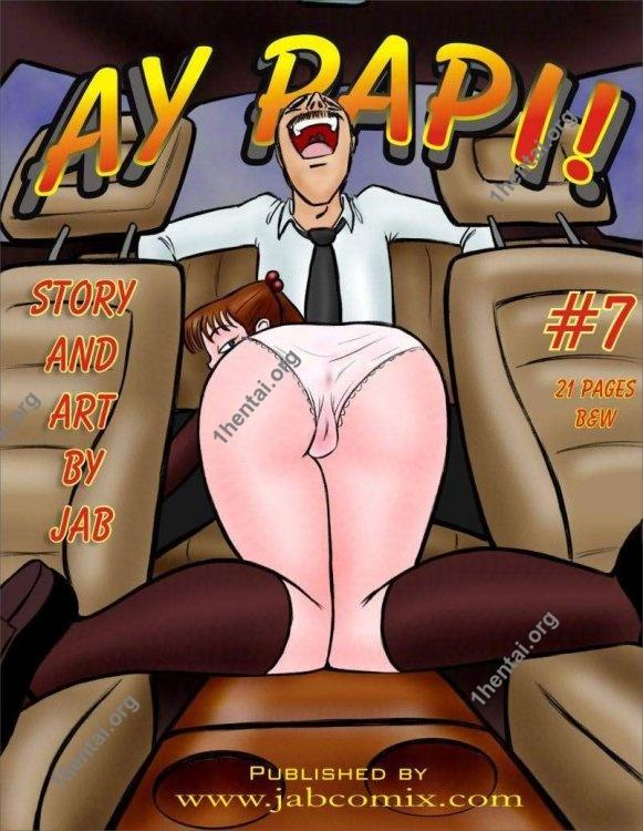Ay Papi 7 (Eng, Jab Comix, xxx 18+, Free)