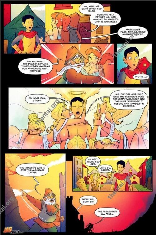 Da'younguns And Dragon 2 (Eng, Jab Comics, xXx, Free)