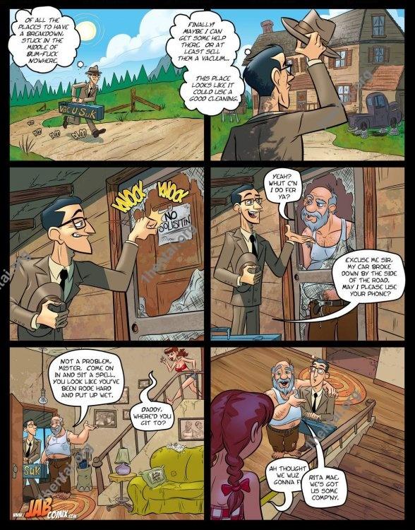 Farm Lessons 16 (Eng, Jab Comics, xXx, Free)