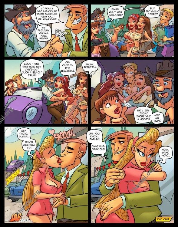 Farm Lessons 17 (Eng, Jab Comics, xXx, Free)