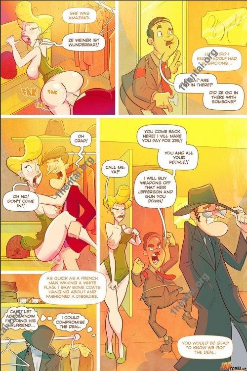 Grumpy Old Man Jefferson 3 (Eng, Jab Comics, xXx, Free)