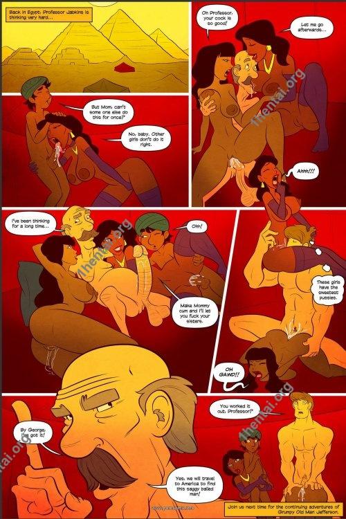 Grumpy Old Man Jefferson 5 (Eng, Jab Comics, xXx, Free)