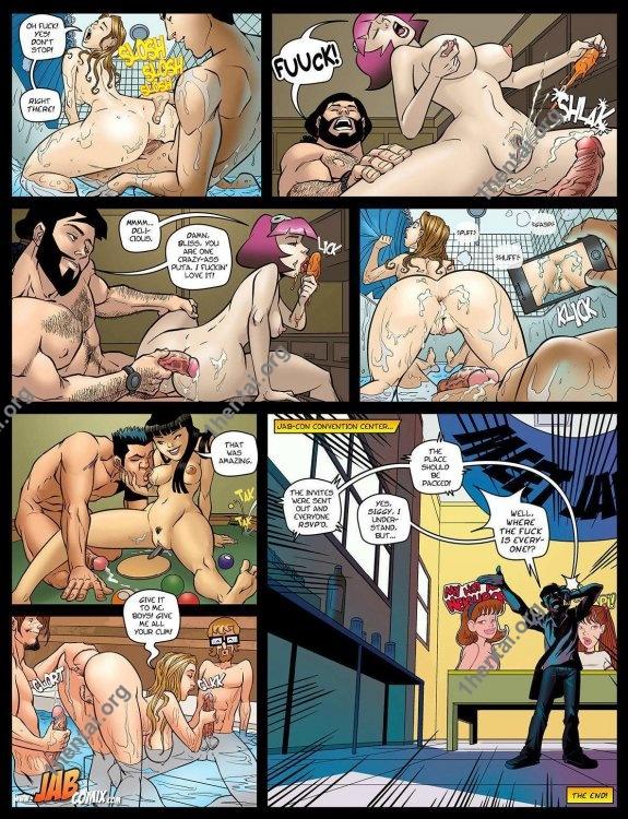 Jab Con (Eng, Jab Comics, xXx, Free)