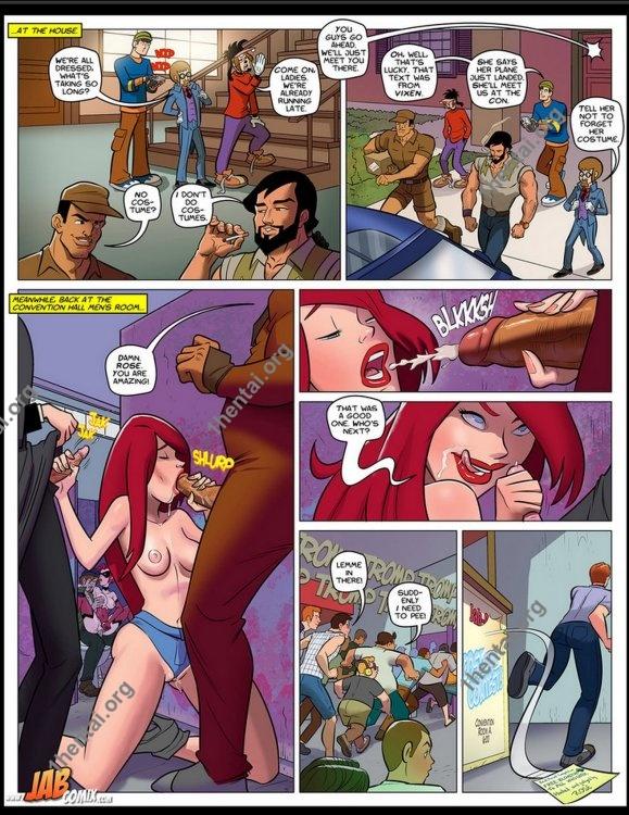 Jab Con 2 (Eng, Jab Comics, xXx, Free)