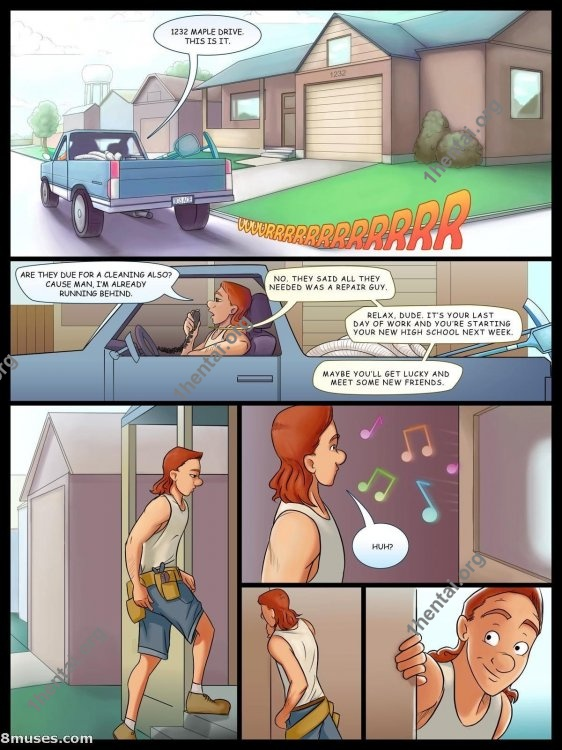 Serviced With A Smile (Eng, Jab Comics, xXx, Free)