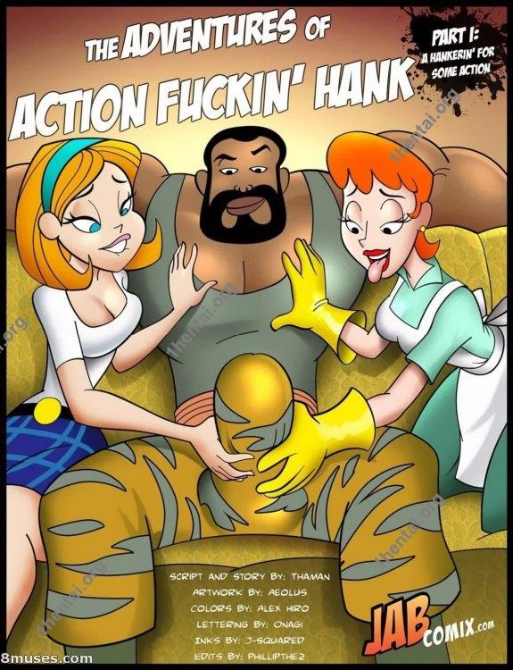 The Adventures of Action Fuckin' Hank (Eng, Jab Comics, xXx, Free)