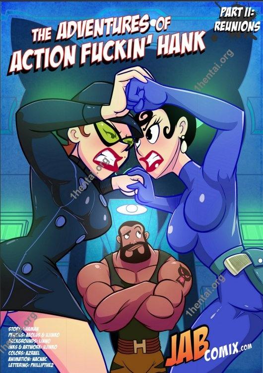 The Adventures of Action Fuckin' Hank 2 (Eng, Jab Comics, xXx, Free)