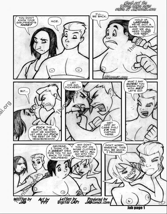 The Wrong House 2 (Eng, Jab Comics, xXx, Free)