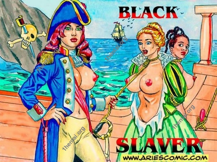 BLACK SLAVER by Aries (En, BDSM comics free)