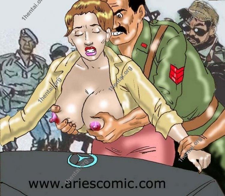 BANANA by Aries (En, BDSM comics free)