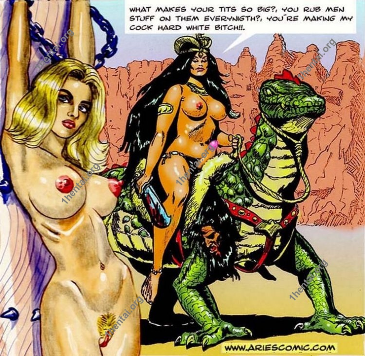 ARABIAN NIGHTS by Aries (En, BDSM comics free)