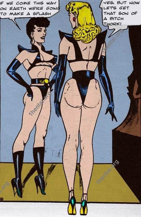 ALIENHORROR by Aries (En, BDSM comics free)