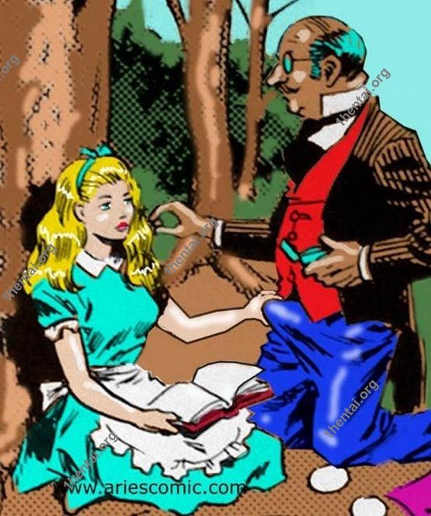ALICEWONDERLAND by Aries (En, BDSM comics free)