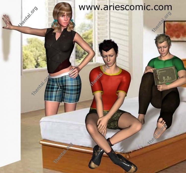 BROTHER by Aries (En, BDSM comics free)