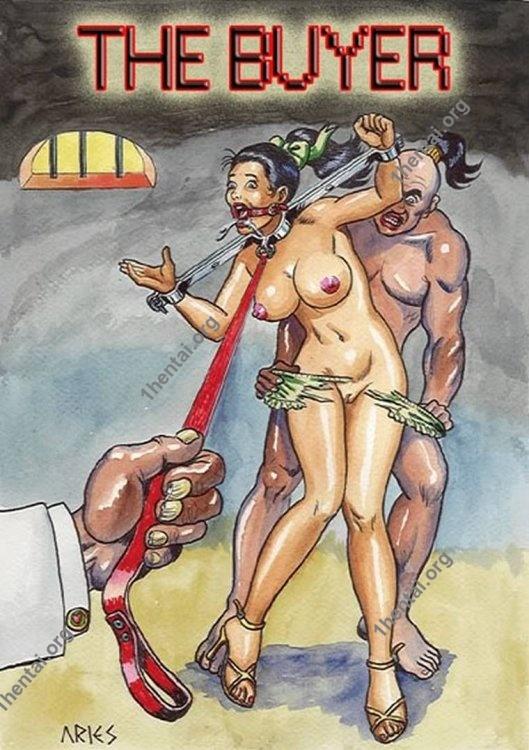 BUYER by Aries (En, BDSM comics free)