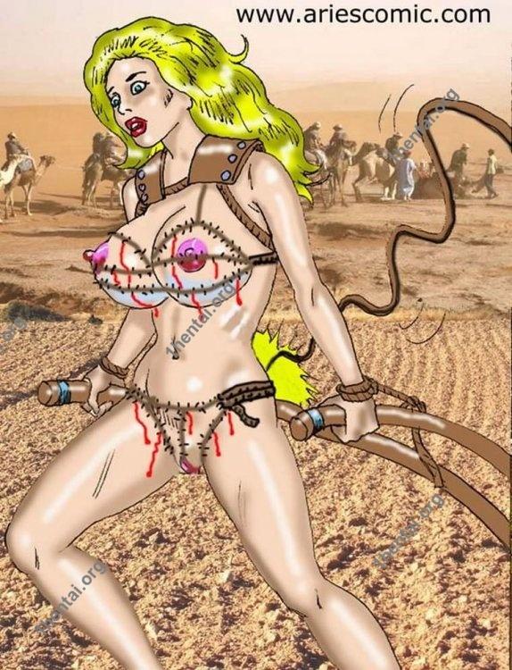 CAMEL by Aries (En, BDSM comics free)
