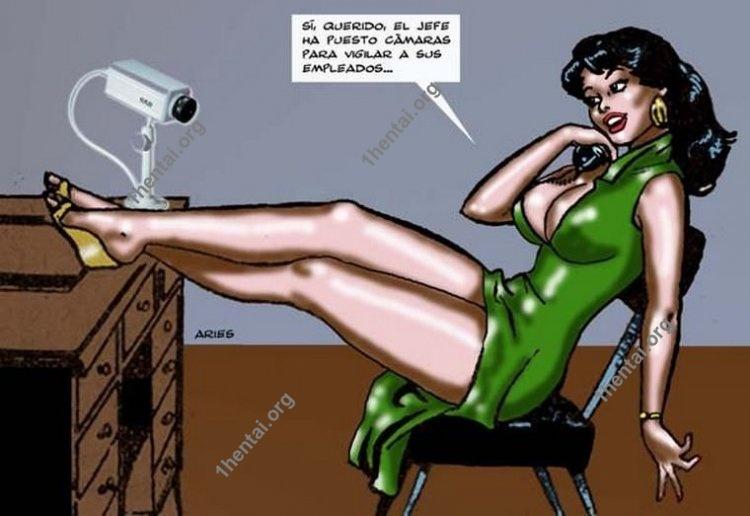 Cartoons by Aries (En, BDSM comics free)