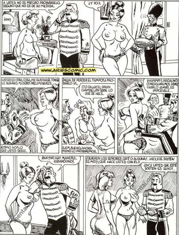 CENICIENTA by Aries (En, BDSM comics free)