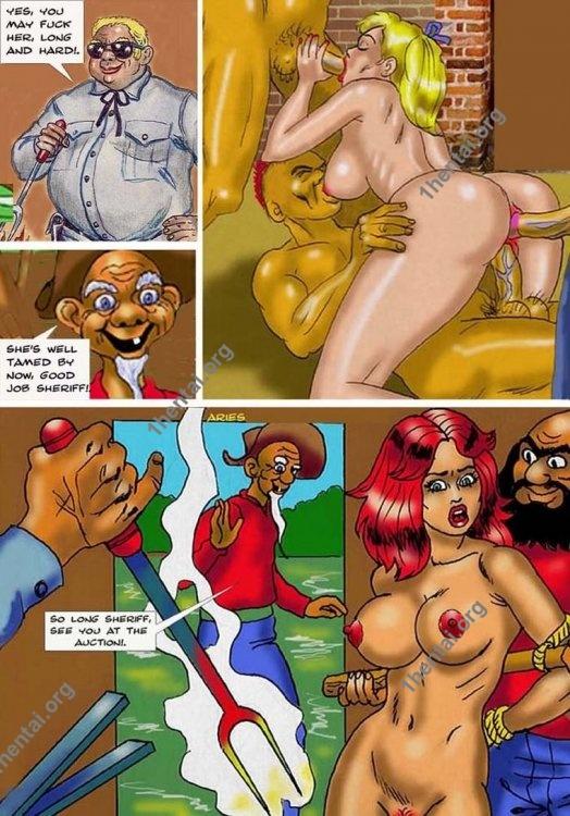 CHAINGANG by Aries (En, BDSM comics free)