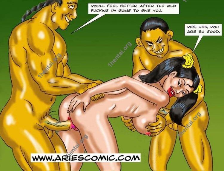 Doggy by Aries (En, BDSM comics free)