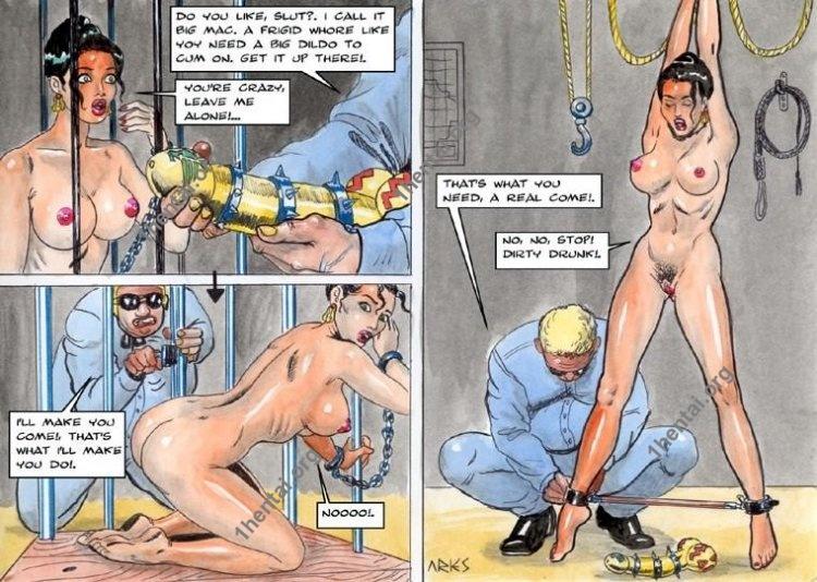 EJECUTIVA by Aries (En, BDSM comics free)