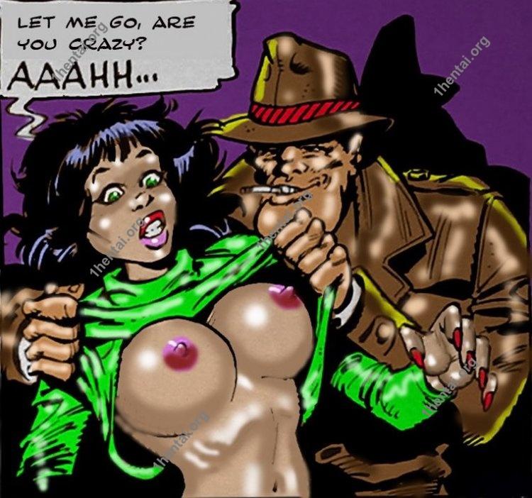 FuckyLucciano by Aries (En, BDSM comics free)