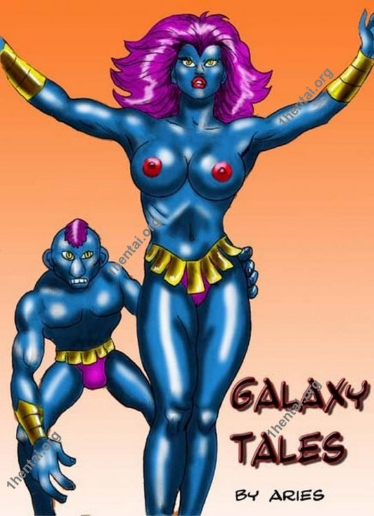 GALAXY TALES by Aries (En, BDSM comics free)