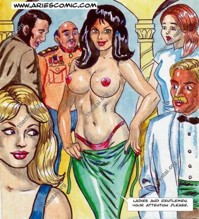 GETTING LAID by Aries (En, BDSM comics free)