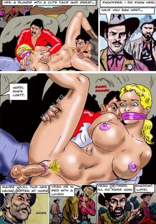 Gold Mine by Aries (En, BDSM comics free)