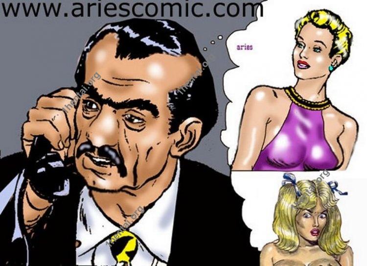 GUERRILLEROS01 by Aries (En, BDSM comics free)